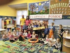 122 Spotkanie przedszkolaków Donalda z Ratownikiem