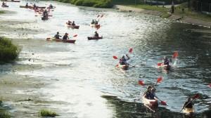 69 Zabezpieczenie spływu kajakowego pielgrzymów